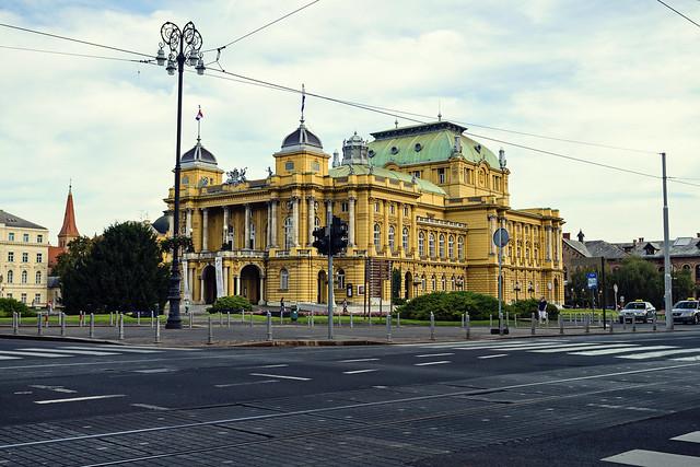 Teatr Narodowy w Zagrzebiu / Zagreb - Croatia