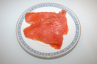 10 - Zutat Räucherlachs / Ingredient smoked salmon