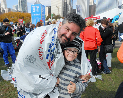 running in the 2012 chicago marathon! XIII.
