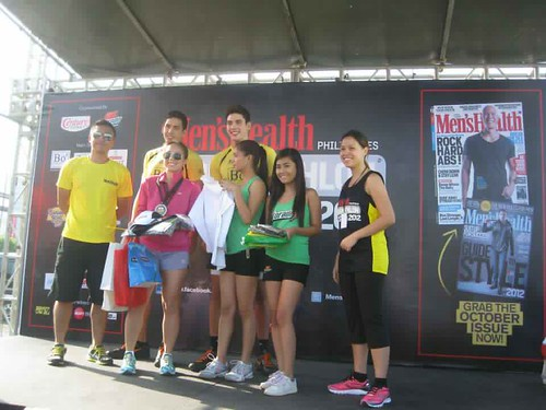 Men's Health Urbanathlon 2012: 2nd Place 5K Women