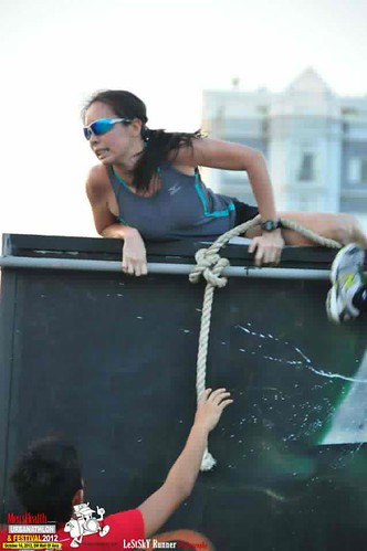 Men's Health Urbanathlon 2012: Wall Climb