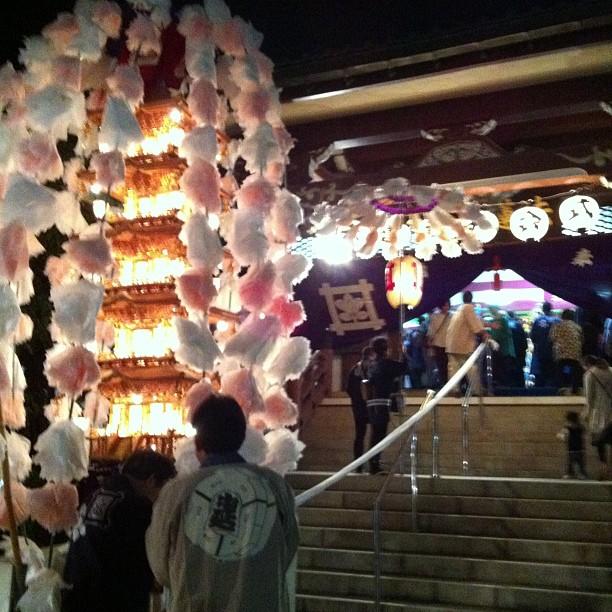 荏原町法蓮寺の御会式