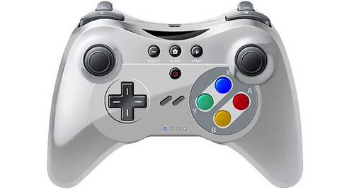 SNES Themed Wii U Pro Controller Revealed