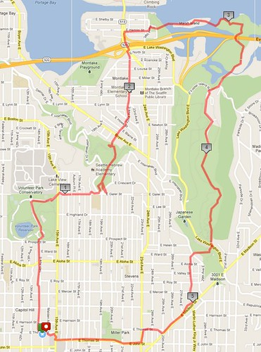 Today's awesome walk, 6 miles in 1:55 by christopher575