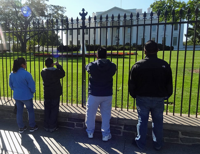 seeing the white house close up