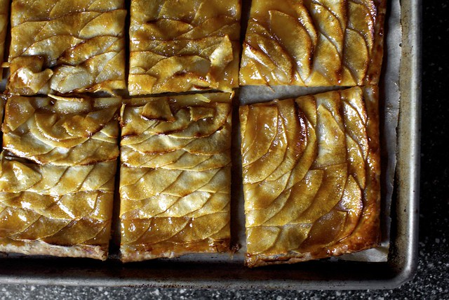 apple mosaic tart with salted caramel | Flickr - Photo ...
