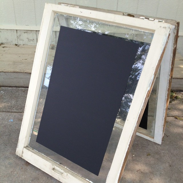 Upcycled Sandwich Board