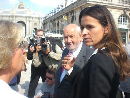 Aurélie Filippetti au Livre sur la Place 2012
