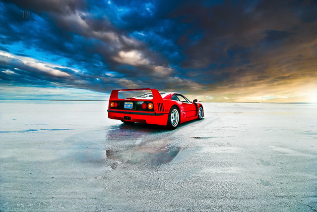 Ferrari F40 | Eye of the Storm