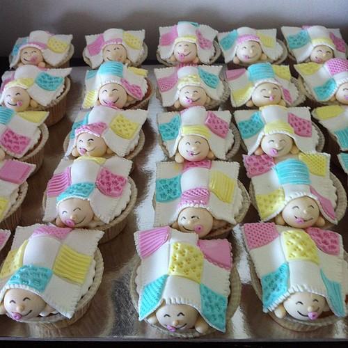 Bebekli fasadura cupcakeleri by l'atelier de ronitte