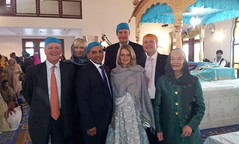 21/10/12 At Gravesend Sikh temple with KCC leader & members
