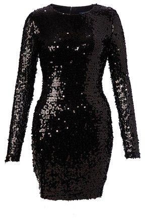 Lust Sequin Fitted Dress