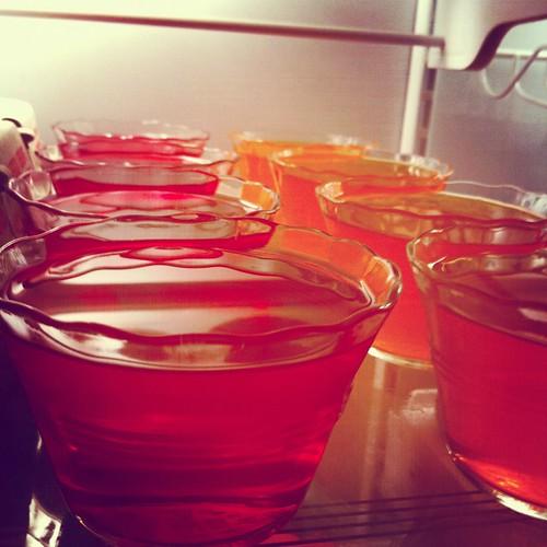 making Jell-O