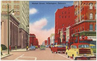 Market Street, Wilmington, Delaware