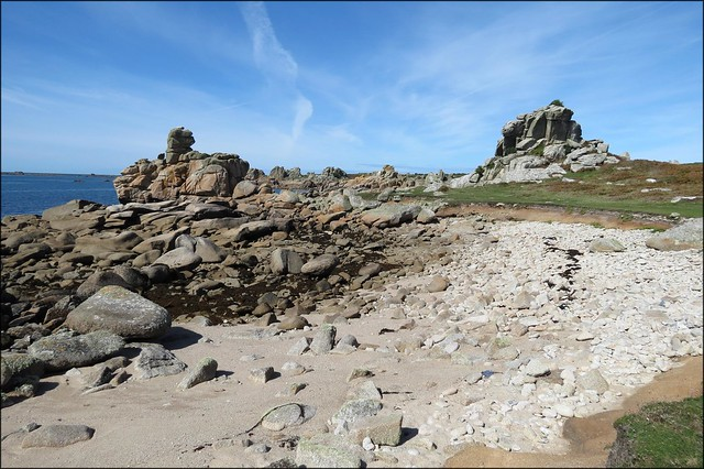 Sand Bar, St Agnes, Isles of Scilly