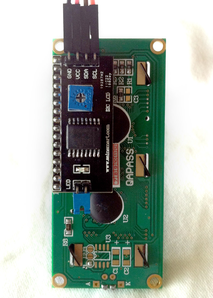 Arduino Uno R3  Mega 2560 And Lcd By I2c 16x2 And 20x4 On