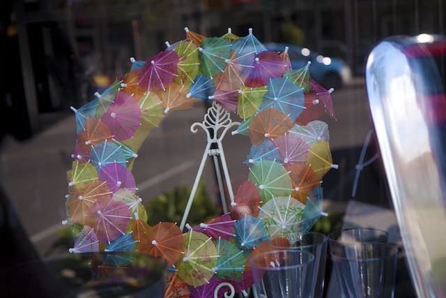 parasol wreath