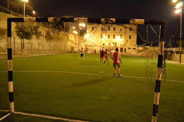 Football in Nablus