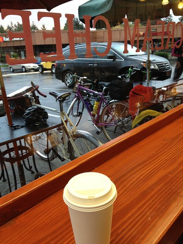 Evidence of coffeeneuring