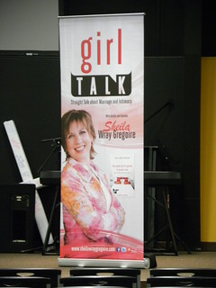 Girl Talk backdrop