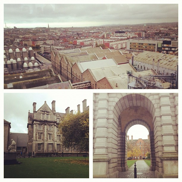 #Dublin views today. #Ireland