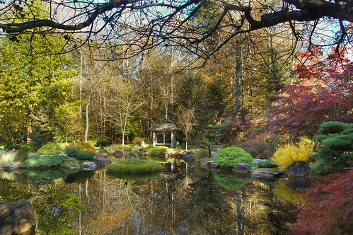 An Autumn Image from Gibbs Gardens, Ball Ground, Georgia