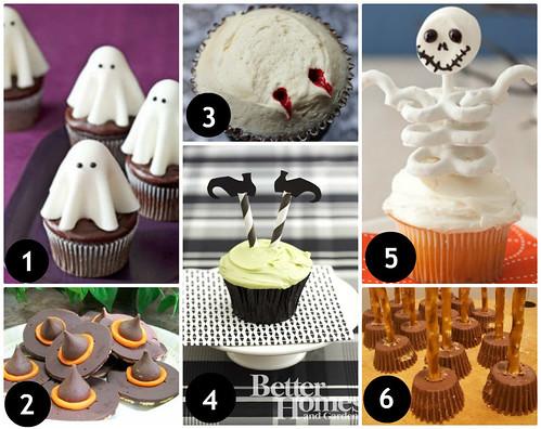 Mrs. Fields Secrets Halloween Cupcake Toppers