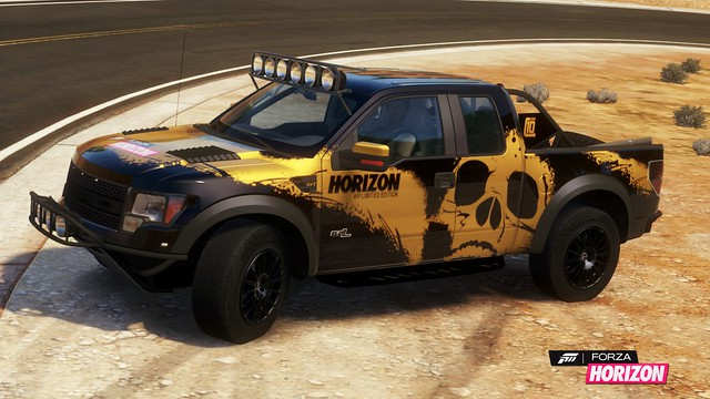 2011 Ford F-150 SVT Raptor with VIP skull livery