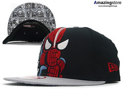 TOKIDOKI, NEW ERA ,MARVEL COMIC SPIDERMAN SNAPBACK CAP
