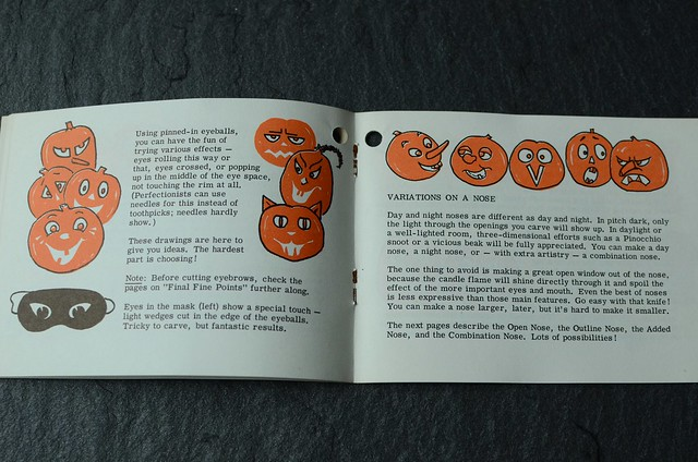 Pumpkin booklet