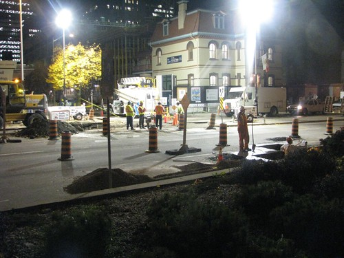 Elgin Sinkhole Night Repair-1