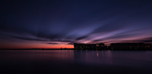 longexposure ireland sunset water clouds canon river dark europe athlone westmeath 60d 365project
