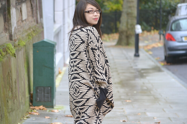 daisybutter - UK Style and Fashion Blog: what i wore, ootd, wiwt, cocoon cardigan, how to style, casual, AW12, temperley london for filofax, alice for temperley