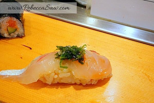 Tsukiji market - sushi dai - best sushi-037
