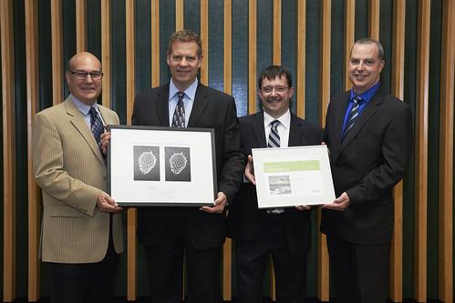 Hydro Québec rend hommage à Molson Coors Canada