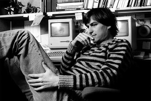 Photo:Steve Jobs by Norman Seeff