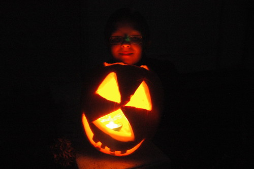 day 3040: odin's jack o' lanterns! I.
