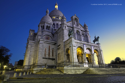 Dawn at Sacre Coeur by eFRAME.co.uk