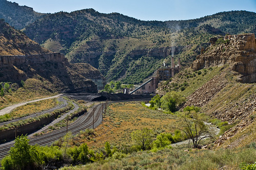 roadtrip powerplant coal castlegate coalfired utahpower highway6utah castlegatepowerplant