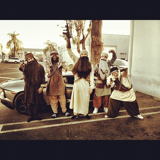 > Pic CHRIS BROWN & friends Terrorist Taliban Halloween costume ... pisses off some fans - Photo posted in The Hip-Hop Spot | Sign in and leave a comment below!