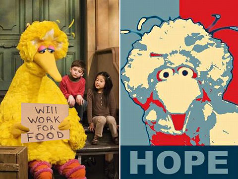 hope and big bird