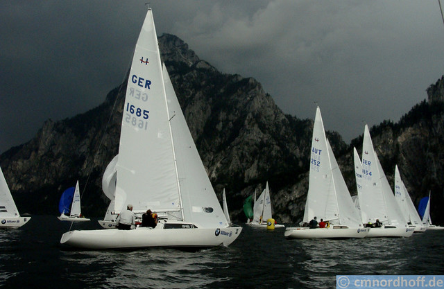 H-Boat Worlds Traunsee May 2012 - WM der H-Boote 2012