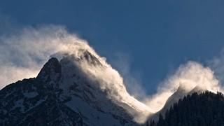 Mystical snowstorm