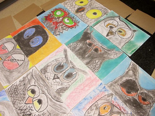 ALL of the big, messy owls! #4