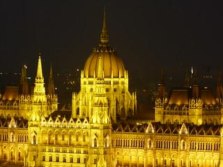 Fotografía del Parlamento de Hungría (Budapest)