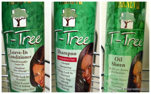 Parnevu T-tree T tree Shampoo leave-in Leave in Conditioner Oil Sheen)