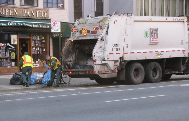 Photo:Garbage Collection By:edenpictures