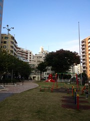 朝散歩 - タコ公園 (2012/11/1)