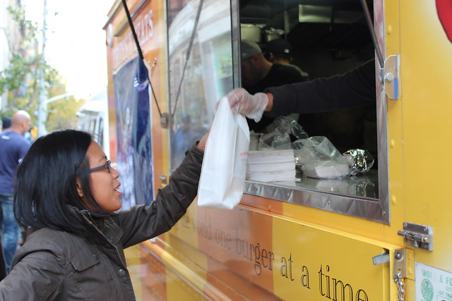 Partnering with NYC Food Trucks to feed NYC during Sandy