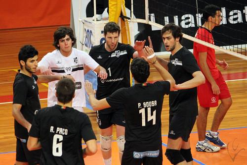 Voleibol: Vitória SC 3-0 Clube K